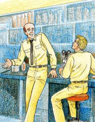 Francis Delphy, sous-marinier, aventures en mer, bande dessinée
